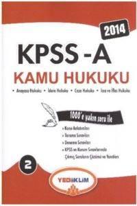 Yediiklim KPSS A Kamu Hukuku 2 Konu Anlatınlı 2014