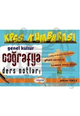 Yediiklim KPSS Kumbarası Genel Kültür Coğrafya Ders Notları 2014