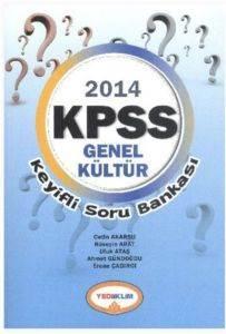 Yediiklim KPSS Genel Kültür Keyifli Soru Bankası 2014