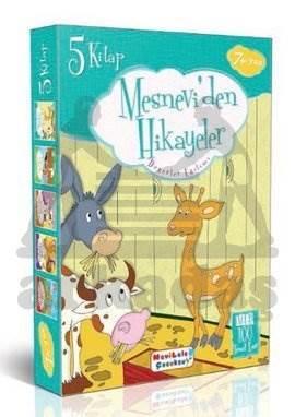 Mesnevi'den Hikayeler 5 Kitap