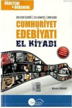 Cumhuriyet Edebiyatı El Kitabı 2015