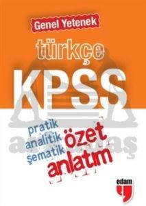 KPSS Türkçe Genel Yetenek Özet Anlatım