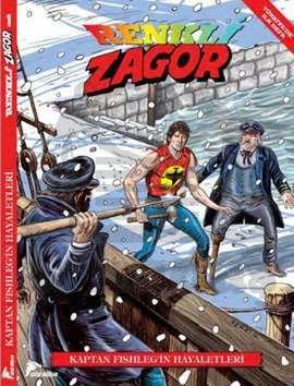 Renkli Zagor 1-Kaptan Fishleng'in Hayalleri
