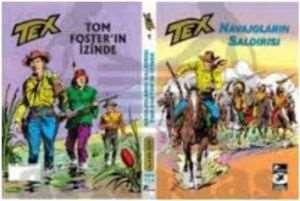 Tex Klasik Seri 1 – Navajoların Saldırısı – TomFoster'in İzinde
