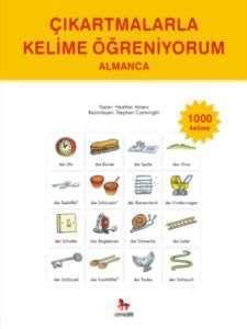 Çıkartmalarla Kelime Öğreniyorum Almanca 1000 Kelime
