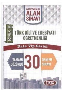 Data ÖABT Türk Dili ve Edebiyatı Öğretmenliği 30 Tamamı Çözümlü Deneme 2014