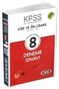 Data KPSS Lise ve Önlisans Tamamı Çözümlü 8 Deneme Sınavı 2014