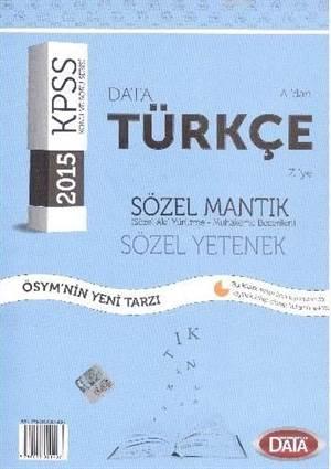 KPSS  A'dan Z'ye Türkçe; Sözel Mantık-Sözel Yetenek