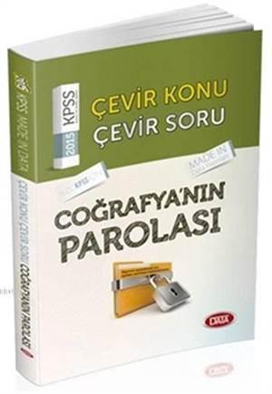 KPSS Coğrafyanın Parolası Çevir Konu Çevir Soru; 2015