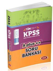 KPSS G.Y-G.K A-Plus Soru Bankası 2015
