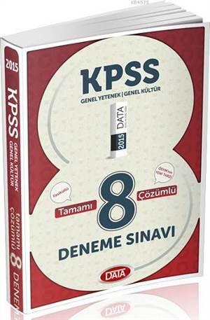 KPSS G.K. G.Y. Tamamı Çözümlü 8 Deneme Sınavı