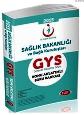 GYS Sağlık Bakanlığı Konu Anlatımlı Soru Bankası 2015