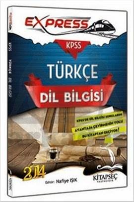 Kitapseç 2014 KPSS Express Türkçe Dil Bilgisi Konu Anlatımı