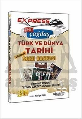 Kitapseç 2014 KPSS Express Çağdaş Türk ve Dünya Tarihi Çözümlü Soru Bankası