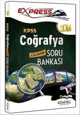 Kitapseç 2014 KPSS Coğrafya Çözümlü Soru Bankası