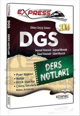 Kitapseç 2014 DGS Sayısal Sözel Yetenek Ders Notları