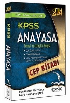 2014 KPSS Anayasa Cep Kitabı - Temel Yurttaşlık Bilgisi