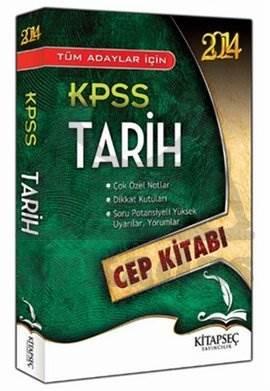 2014 KPSS Tarih Cep Kitabı