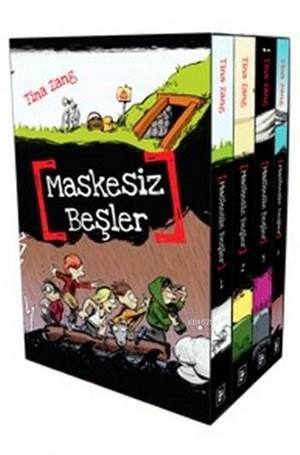 Maskesiz Beşler Serisi (4 Kitap Set Kutulu)