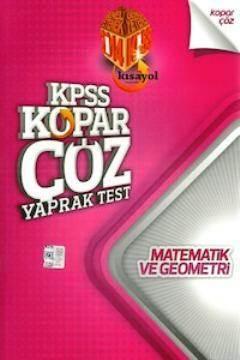 KPSS Matematik - Geometri Yaprak Test