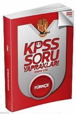 KPSS Türkçe Soru Yaprakları Kopar Çöz