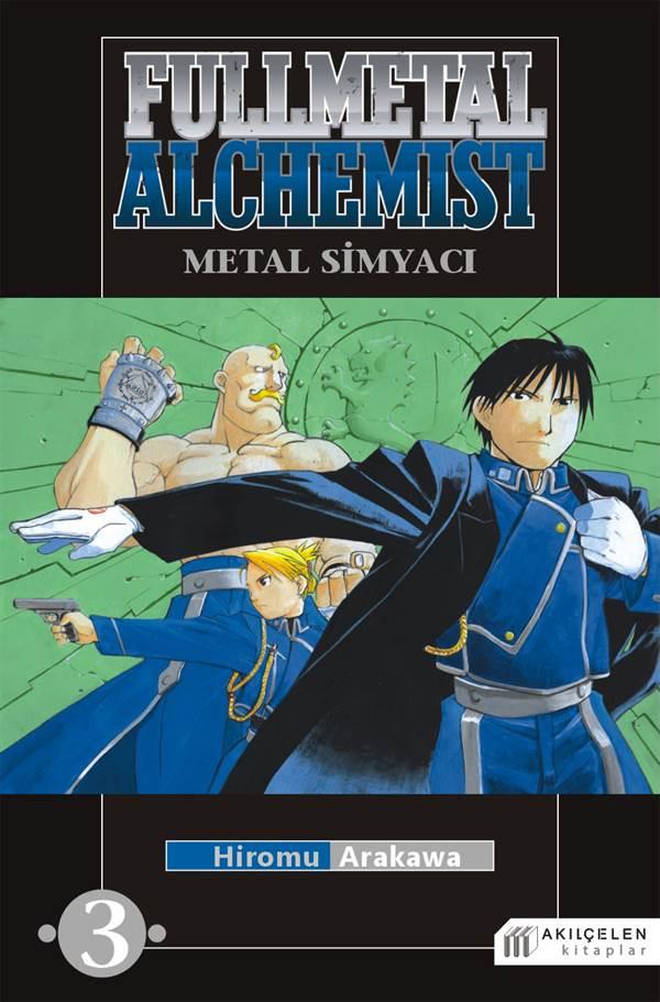 Fullmetal Alchemist Çelik Simyacı Cilt:3