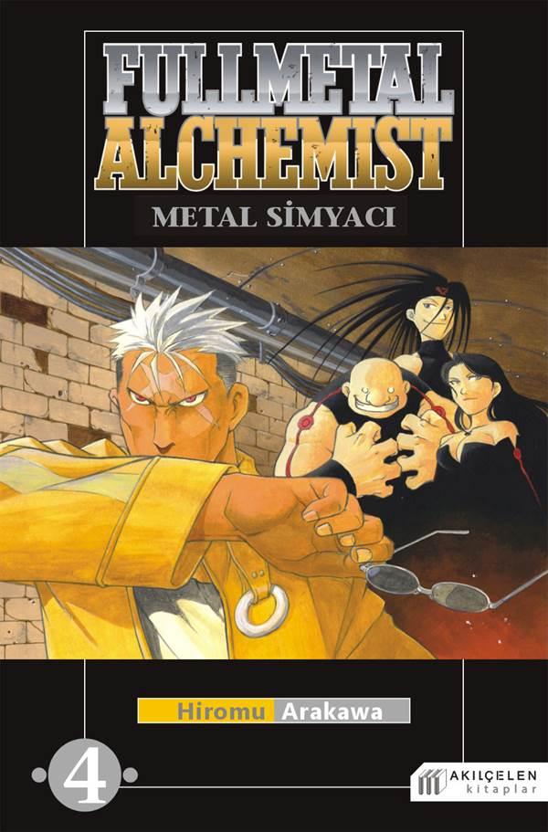 Fullmetal Alchemist Çelik Simyacı Cilt:4