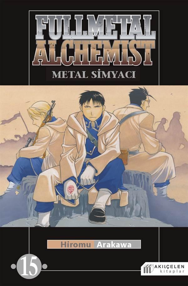 Fullmetal Alchemist Çelik Simyacı Cilt:15