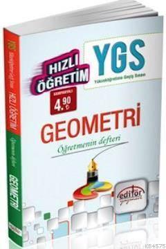 YGS Hızlı Öğretim Geometri Öğretmenin Defteri