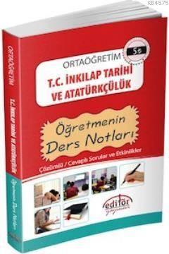 9. Sınıf T.C. İnkılap Tarihi Ve Atatürkçülük Öğretmenin Ders Notları