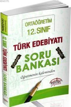 12. Sınıf Türk Edebiyatı Soru Bankası Öğretmenin Kaleminden