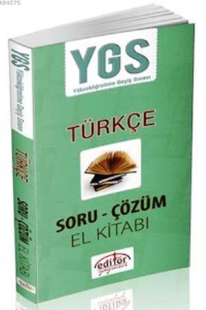YGS Türkçe Soru  Çözüm El Kitabı