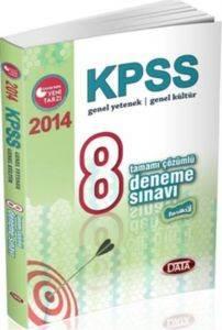 Data Kpss Genel Kültür Genel Yetenek 8 Deneme Sınavı 2014