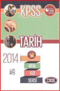 Data 2014 KPSS Kızıl Kral Serisi Tarih Konu Kitabı