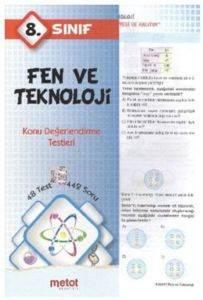 Metot 8. Sınıf Fen ve Teknoloji Konu Değerlendirme Testleri