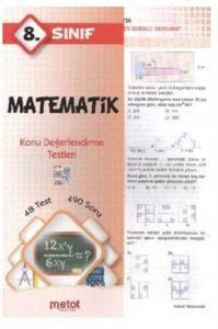 Metot 8. Sınıf Matematik Konu Değerlendirme Testleri