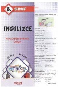 Metot 8. Sınıf İngilizce Konu Değerlendirme Testleri