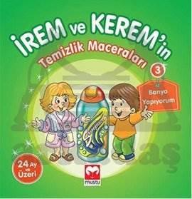İrem ve Kerem'in Temizlik Maceraları 3 - Banyo Yapıyorum