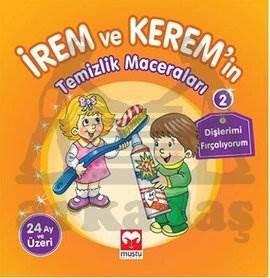 İrem ile Kerem'in Temizlik Maceraları - Dişlerimi Fırçalıyorum