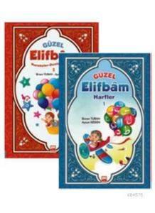 Güzel Elifbam-  1- 2   -   Set - Okul Öncesi -  Muştu Yayınları (2014 Yeni)