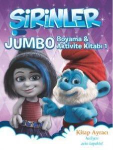 Şirinler - Jumbo Boyama ve Aktivite Kitabı 1