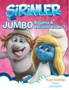 Şirinler - Jumbo Boyama ve Aktivite Kitabı 2