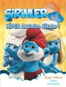 Şirinler - Hiper Aktivite Kitabı 1