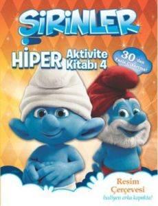 Şirinler - Hiper Aktivite Kitabı 4