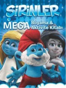 Şirinler - Mega Boyama ve Aktivite Kitabı