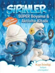 Şirinler - Süper Boyama ve Aktivite Kitabı