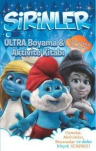 Şirinler - Ultra Boyama ve Aktivite Kitabı
