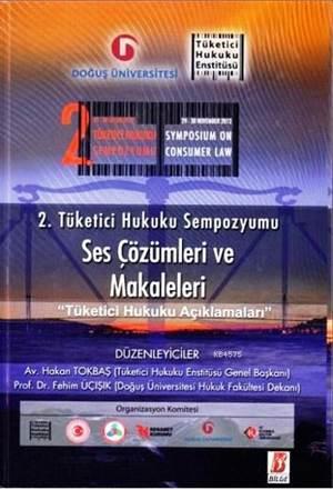2. Tüketici Hukuku Sempozyumu-Ses Çözümleri Ve Makaleleri