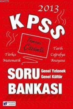 KPSS Genel Kültür Genel Yetenek Soru Bankası
