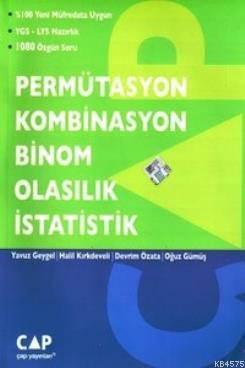 Permütasyon Kombinasyon Binom Olasılık İstatistik